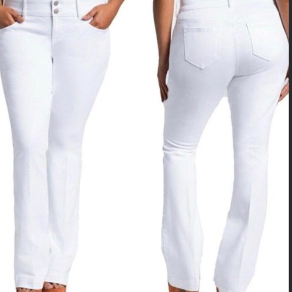 490f2258095b torrid white flare jeans plus size 28 women. M 5af3459ccaab44dce4020e16
